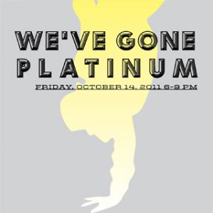 Teen Night: We've Gone Platinum. Friday, October 14, 6-9 PM FREE for Teens